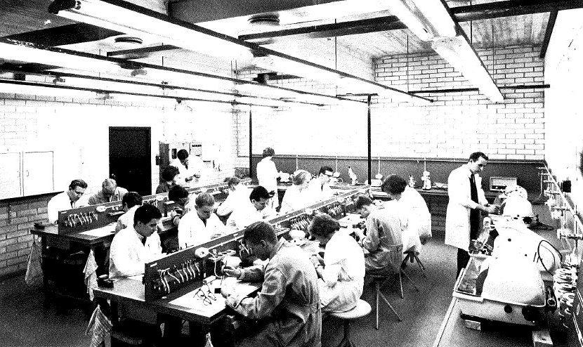 Instrumentariumin oma optikkokoulu perustettiin 1964 Elimäenkadulle Helsinkiin.